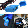 Waterproof Motorcycle Cell Phone Charging 2.1A USB Charger - BLUE