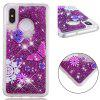Full Soft Anti-fall Sand Transparent Mobile Phone Case for Xiaomi Mi 8 - VIOLET