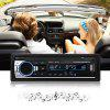 JSD - 520 Car Audio Stereo MP3 Player - BLACK