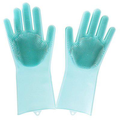 Kitchen Cleaning Heat Insulation Silicone Gloves