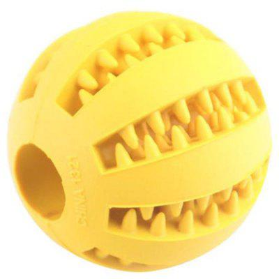 Pet Silicone Molar Tooth Melancia Vazamento Food Ball Toy