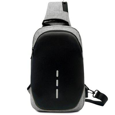 Men Leisure Large Capacity Stylish Sports Chest Bag