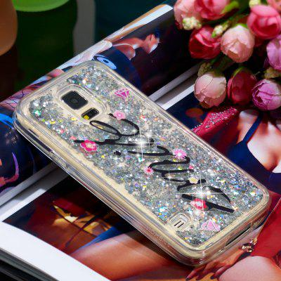 Full Soft Anti-fall Sand Smile Transparent Mobile Phone Case for Samsung Galaxy S7