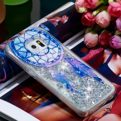 Volle weiche Anti-Fall-Sand-Fantasie-Windspiel transparenter Handy-Fall für Samsung Galaxy S6 Edge