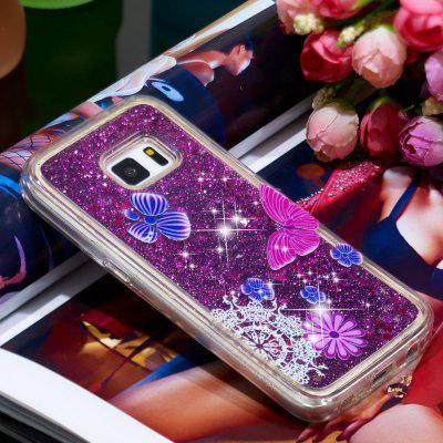 TPU Full Soft Anti-fall Sand Mobile Phone Case for Samsung Galaxy S5