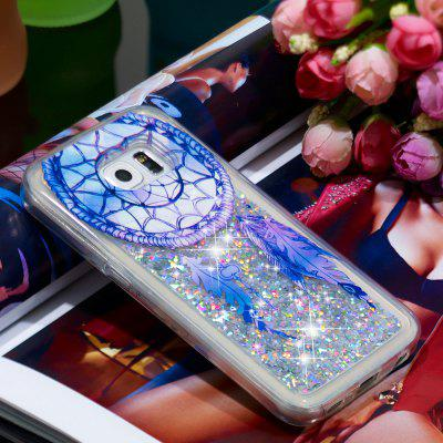 TPU Soft Quicksand Mobile Phone Case for Samsung Galaxy S6