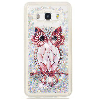 TPU Full Soft Anti-fall Sand Transparent Mobile Phone Case for Samsung Galaxy J5