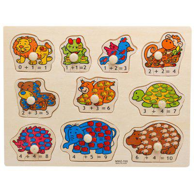 Children Animal Puzzle Cognitive Educational Toys