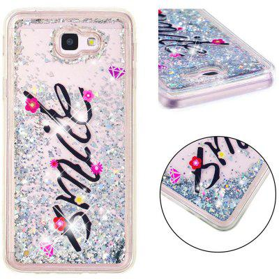TPU Full Soft Anti-fall Sand Transparent Mobile Phone Case for Samsung Galaxy J5 Prime