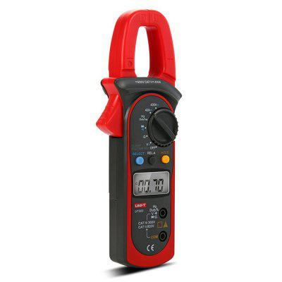 UNI-T UT203 3999 Count 40A to 400A AC / DC Current Digital Clamp Meter with Voltage Resistance Frequency Test