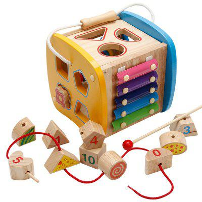 Children's Early Education Shape Paired Building Block Toy