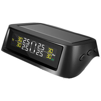 T92W Car Solar Charger External Sensor Tire Pressure Monitoring System