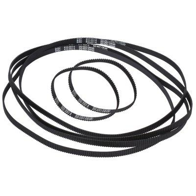 GT2 Closed Loop Timing Belt Rubber 2GT 6mm 3D Printers Parts Synchronous Belts Part