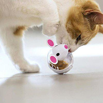 Cartoon Mouse Tumbler Cat Automatic Leaking Food Device