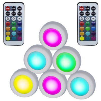 LED Colorful Remote Control Night Light