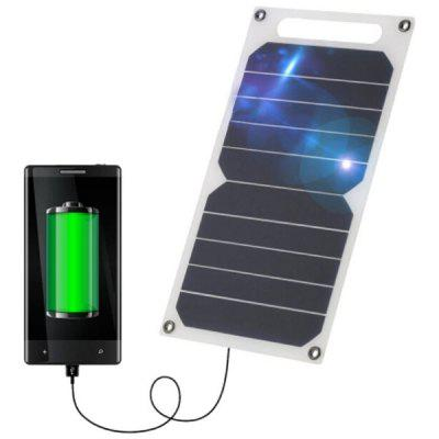 6V 6W Portable Solar Charging Panel USB Charger for Outdoor Smartphone