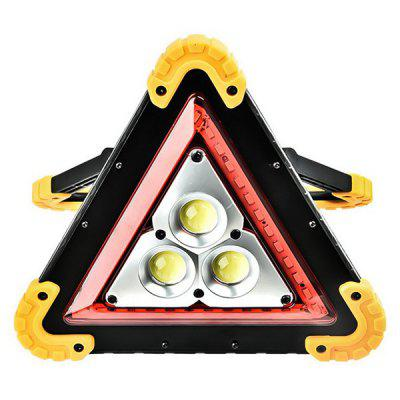 Exterior Car Folding Tripod Traffic Warning Light Board