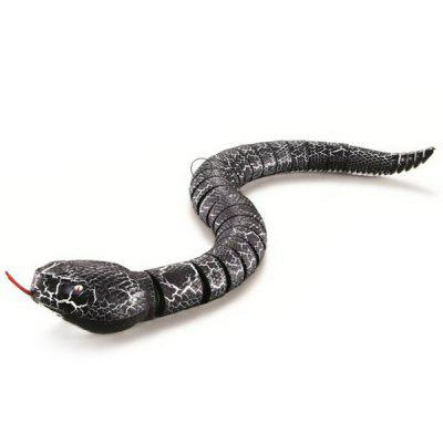 Remote Control Snake Simulation RC Rattlesnake Toy Gift