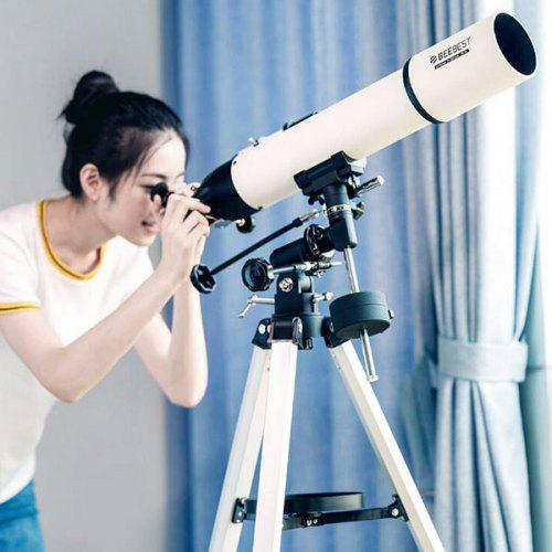 Gearbest XA90 Twilight Monocular High-definition Low-light Night Vision Astronomical Telescope from Xiaomi youpin - WHITE