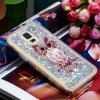 Full Soft Anti-fall Sand Owl Transparent Mobile Phone Case for Samsung Galaxy S7 - MULTI-A