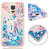 Full Soft Anti-fall Sand Cherry Blossom Transparent Mobile Phone Case for Samsung Galaxy S7 - MULTI-A