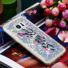 Anti-fall Sand Smile Transparent Mobile Phone Case for Samsung Galaxy S7 Edge - MULTI-A