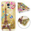 Anti-fall Sand Tower Transparent Mobile Phone Case for Samsung Galaxy S7 - MULTI-A