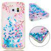 Voller weicher Anti-Fall Sand Cherry Blossom transparenter Handy-Fall für Samsung Galaxy S6 Edge - MULTI-A