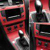 3D Carbon Fiber Vinyl Car Motorcycle Furniture Sticker - BLACK