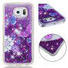 TPU Full Soft Anti-fall Sand mobiele telefoon hoes voor Samsung Galaxy S6 - TRANSPARANT