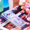 TPU Full Soft Anti-fall Sand Transparent Mobile Phone Case for Samsung Galaxy J1 - MULTICOLOR-A