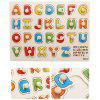 Children Wooden Hand Scratch Board Puzzle Educational Toys - MULTI-A