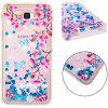 TPU Full Soft Anti-fall Sand Transparent Mobile Phone Case for Samsung Galaxy J5 Prime - MULTI-A