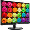 PHILIPS 226V6QSB6 21.5 inch LCD Monitor IPS Wide Viewing Angle Slim Body Computer Display Wall Mount - BLACK