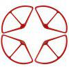 Remote Control Aircraft Drone Propeller Protection Ring for DJI Phantom 2 4pcs - CHESTNUT RED