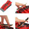 DIY Finger Skateboard with Ramp Parts Board Sports Toy Gift - RED