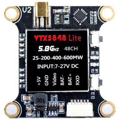 5848 LITE 5.8G 48CH 25 / 100 / 200 / 400mW / 600mW Switchable FPV Transmitter