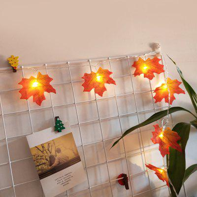 Christmas Maple Leaf Decoration Light