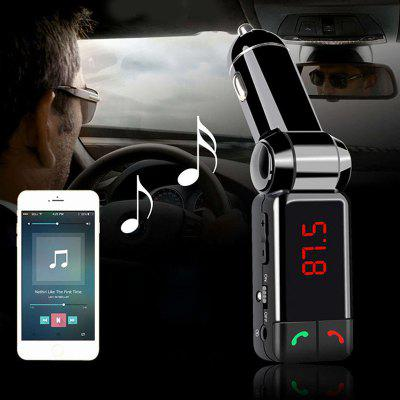 Quelima BC060 Car MP3 Bluetooth Music Player FM Transmitter