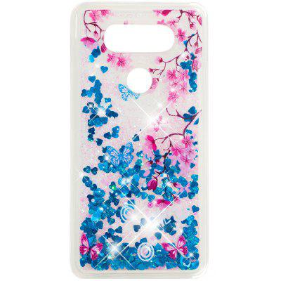 Fully Soft Anti-falling Sand Transparent Mobile Phone Case for LG V20