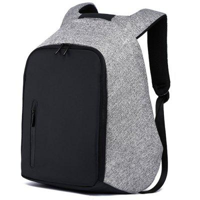 Anti-theft Backpack Men's College Canvas Travel Multi-function Business 15.6 inch Computer Bag