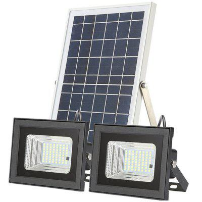 Split Solar 64 LED doble faro / lámpara