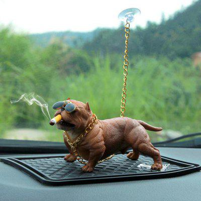 Creative Social Dog Car Decoration