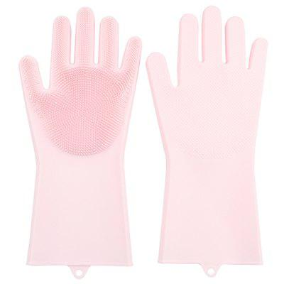 Silicone Dishwashing Multi-purpose Cleaning Gloves 1 Pair