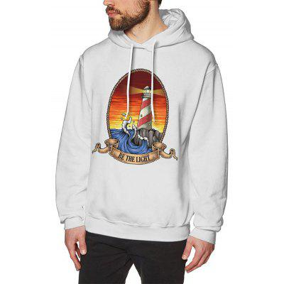 Cotton Autumn and Winter Men Hooded Sweater