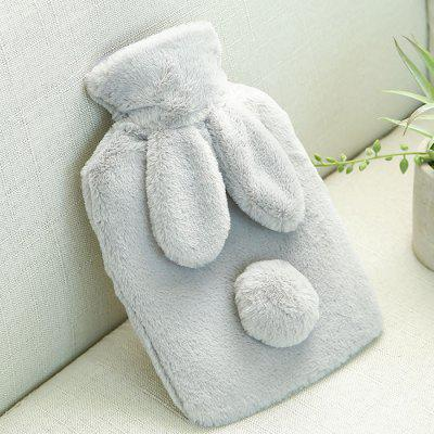 Rabbit Ear Thin Winter Warm Anti-hot Leakproof Hot Water Bottle