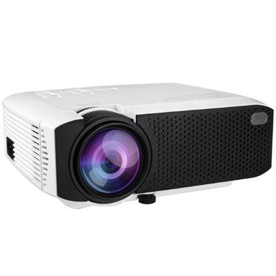 E400 LCD Home Office Projector 800 x 480P Linux Support HDMI / USB / Audio / AV / VGA