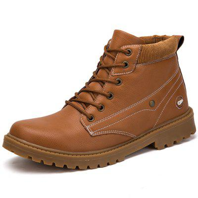 Fashionable Casual High-top Boots for Men