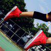 Mesh Rubber Outdoor Basketball Shoes - RED