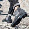 Men Leisure Stylish Slip-on Casual Boots - GRAY